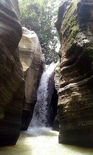 Air Terjun Luweng Sampang Goa Pertapaan Sunan Kali...