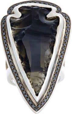 Pamela Love Arrowhead Ring #jewellery #ring