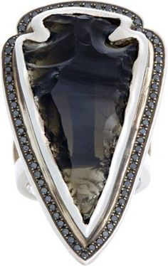 Pamela Love Arrowhead Ring #jewellery #ring