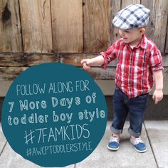 7 Days of Toddler Boy Style at A Well Crafted Party