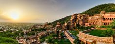 Alwar Neemrana Fort-Palace India, Asia The 4-star Neemrana Fort-Palace offers comfort and convenience whether you're on business or holiday in Alwar. The hotel offers a high standard of service and amenities to suit the individual needs of all travelers. To be found at the hotel are free Wi-Fi in all rooms, 24-hour front desk, luggage storage, car park, meeting facilities. Guestrooms are fitted with all the amenities you need for a good night's sleep. In some of the rooms, gue...