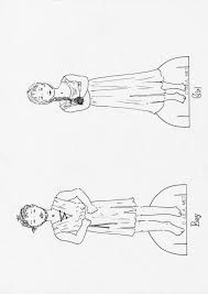 printable boy and girl puppets - Google Search
