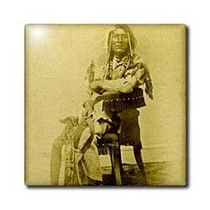 """1870 Portrait of Native American Son of Washikee Stereoview Antiqued - 12 Inch Ceramic Tile by 3dRose. $22.99. Image applied to the top surface. Construction grade. Floor installation not recommended.. Dimensions: 12"""" H x 12"""" W x 1/4"""" D. Clean with mild detergent. High gloss finish. 1870 Portrait of Native American Son of Washikee Stereoview Antiqued Tile is great for a backsplash, countertop or as an accent. This commercial quality construction grade tile has a high gloss finish..."""