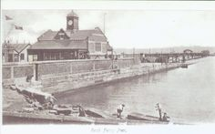 Rock Ferry pier. Local History, British History, Family History, Liverpool Town, In Memory Of Dad, Old Photos, Manchester, Past, Nautical