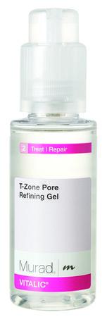 Murad T-Zone Pore Refining Gel: Un paso en el tratamiento que perfecciona tu piel, proporcionando un equilibrio entre las zonas grasas y secas para una complexión radiante.