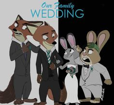 Our Family Wedding (AU) by KungFuFreak07.deviantart.com on @DeviantArt Has anyone seen Our Family Wedding?   Well, if you haven't, it's a super fun film that tackles the social issue of accepting interracial relationships. The movie is hilarious, sweet, and just plain awesome so I highly recommend it!   Aaaaaand yes, I have to annoy you guys with another AU. XD  #au #ourfamilywedding #disney #nickwilde #judyhopps #Nickandjudy #wildehopps