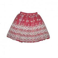 Fusta din tul si organza brodata cu flori mari Girl Outfits, Tulle, Velvet, Satin, Silk, Elegant, Skirts, Cotton, Clothes
