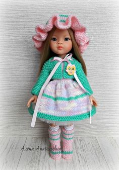 VK is the largest European social network with more than 100 million active users. Knitted Dolls, Baby Hats, American Girl, Doll Clothes, Harajuku, Crochet Hats, Knitting, Patterns, Fashion