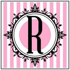 Diy Birthday Album, Barbie Birthday, Barbie Party, Birthday Ideas, Banner Letters, Monogram Letters, Printable Border, Dior Perfume, Letter B