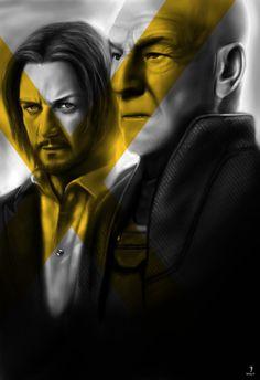 X Men: Days of Future Past fan art poster 2