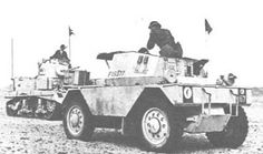 I am a big fan of reading about armored cars and other types of scouting vehicles from the er. British Armed Forces, Military Armor, Armored Fighting Vehicle, Ww2 Tanks, Four Wheel Drive, Armored Vehicles, British Army, North Africa, Military Vehicles