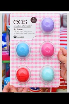 EOS multipack at Costco for care packages.. $14.99 for 6