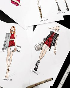 Chic sketches... Ylime xxx