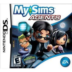 MySims Agents - Nintendo DS by Electronic Arts - to deal coupon Dragon Quest, My Sims, Mini Games, Games To Play, Ds Games, Video Game Memes, Video Games, Wii, Nintendo Console