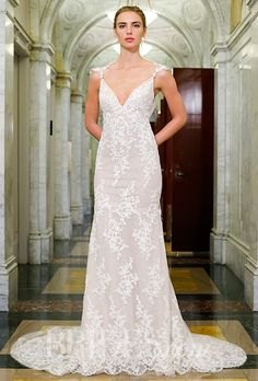 A totally romantic lace @vkkny wedding dress | Brides.com