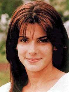 A young Sandra Bullock