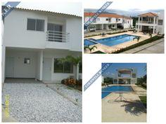 Casa en arriendo! conjunto cerrado con piscina y salón social. #inmobiliaria #santamarta #arriendos