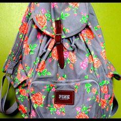 Victoria's Secret PINK backpack.