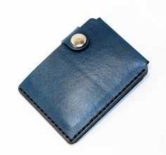 CREDIT CARD WALLET. Very comfortable & easy to wear. Color: blue. Size: 10cm x 7.5cm. It could hold about 5-10 credit cards and cash.  If you have some questions please write