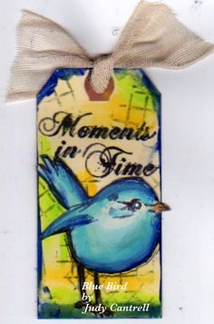 Scribbly Bird was added to my little tag.