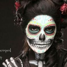 halloween makeup ideas | Halloween Ideais e tutoriais Halloween Makeup Ideas and Tutorials