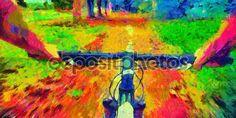 depositphotos_70726759-Bicycle-ride-pov-acid-colors.jpg (1024×512)