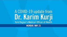 Get updated information on COVID-19 in York Region