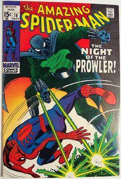 Vintage Comic Book - Amazing Spider-Man #78 by riptheskull, via Flickr