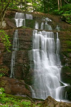 Bays Mountain Falls is located in Hawkins County, just outside Church Hill, TN