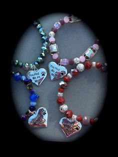 YOU Had ME At WOOF Charm Bracelet Sterling by WhimsicalMystical