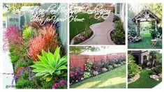 40 Best Front Yard and Backyard Landscaping Ideas for Your Home 40 besten Garten und Hinterhof Lands Landscaping A Slope, Landscaping Ideas, Planting Grass, Landscape Lighting Design, Backyard Ideas For Small Yards, Backyard Lighting, Outdoor Lighting, Landscape Materials, Small Gardens