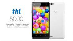 5000 mAh Batarya gücü ile THL 5000 akıllı telefon geliyor!