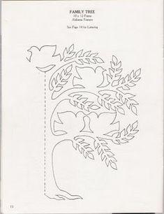 Simple Scherenschnitte Tree pattern to try.