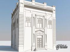 c4d building modular mentalray