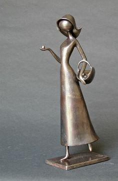 Fille au panier by Jean-Pierre Augier