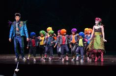 Ever wonder what Papageno (Jonathan Michie) and Pagagena's (Hye-Jung Lee) children would look like? The Magic Flute.