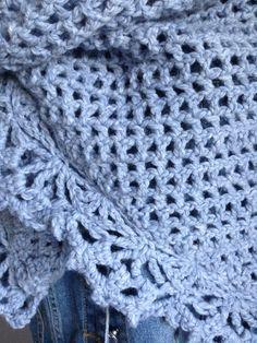 Omslagdoek met wol Julia van Zeeman handmade by @jufSas