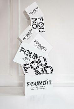 b6d9bba556d Debenhams Found It Campaign. Dima Galsan · branding   identity
