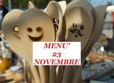 TUTTI INSIEME: Ricette del giorno 23 novembre
