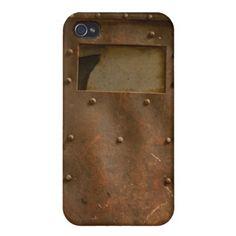 Rusty welding helmet covers for iPhone 5 Metal Iphone Case, Iphone 4 Cases, Iphone 6 Plus Case, 5s Cases, Iphone 8, Welding Trucks, Helmet Covers, Welding Helmet, Jaba