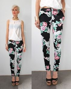 BLACK FLORAL PANTS (Sweety_Pretty_Spicy) (by Olivia (Sweety_Pretty_Spicy) Sweety_Pretty_Spicy Boutique) http://lookbook.nu/look/3988190-BLACK-FLORAL-PANTS-Sweety-Pretty-Spicy