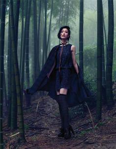 Du Juan   Stockton Johnson   Vogue China September2011 - 8 Style   Sensuality Living - Anne of Carversville Women's News