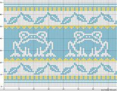 可爱动物提花图案 - 编织幸福 - 编织幸福的博客