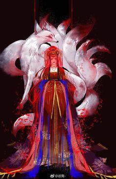 Can Cats Eat Chocolate Product Art Manga, Art Anime, Anime Fantasy, Fantasy Art, Chinese Drawings, Fox Art, China Art, Anime Angel, Fantasy Creatures