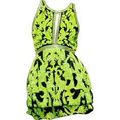 edited by Satinee - Roberto Cavalli Fall 2012 ❤ liked on Polyvore featuring dresses, vestidos, satinee, green, roberto cavalli, green dress and roberto cavalli dresses