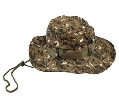 Hat Cap for Wargame,fishing and Outdoor Activties Men's Washed Cotton Twill Chin Cord Outdoor Hunting Sun Hat >>> For more information, visit image link.