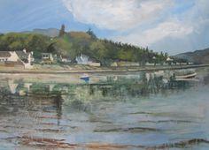 Loch Carron and Fuar Tholl