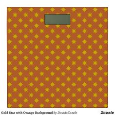 Gold Star with Orange Background Digital Scale Available on many products! Hit the 'available on' tab near the product description to see them all! Thanks for looking!  @zazzle #art #star #pattern #shop #home #decor #bathroom #bedroom #bath #bed #duvet #cover #shower #curtain #pillow #case #apartment #decorate #accessory #accessories #fashion #style #women #men #shopping #buy #sale #gift #idea #fun #sweet #cool #neat #modern #chic #navy #blue #black #orange #grey #gray #yellow #gold #purple