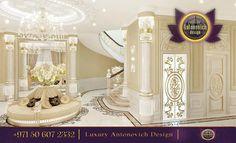 ~ Luxury Entrance Hall Design ~ antonovich-design.ae