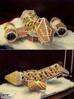 Gingerbread Serenity ship